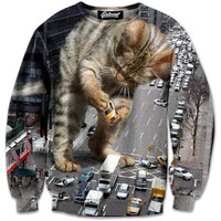Kitty Zilla Sweatshirt