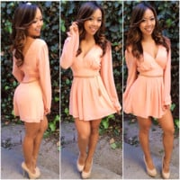Chic Romper - Blush | Fashion Nova