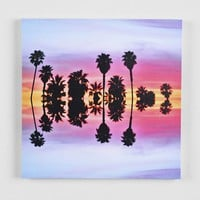 Wesley Bird Palmadelic Lavender Wall Art - Urban Outfitters