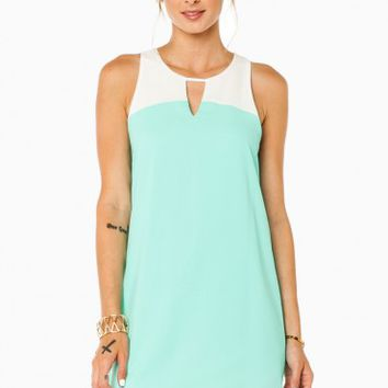 Adeline Dress in Mint