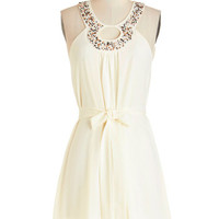 ModCloth Mid-length Sleeveless A-line Seeds of Style Dress
