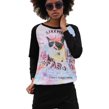 Fab Cat Sweater