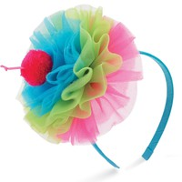Tulle Cupcake Birthday Party Headbands - 2 Styles Available