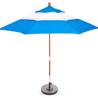 Palm Springs Patio Umbrella, Blue