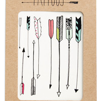ModCloth Quirky Quick with the Quiver Temporary Tattoo Set