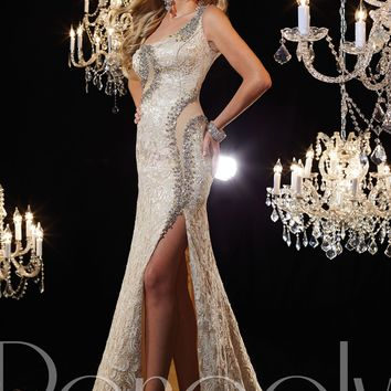 Panoply 44229 One Shoulder Gown