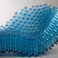 Pop Bottle Benches - Pawel Grunert Turns Recycled Containers Into Functional Chairs (GALLERY)