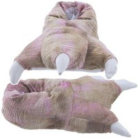 Pink Dinosaur Claw Slippers for Women Medium/7-12