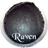 raven,liner,mineral,eyeshadow