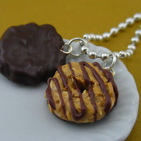 Girl Scout Cookies Necklace by shayaaron on Etsy