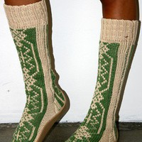 Mid Knit Booties - SHOES - ACCESSORIES - Shop Online
