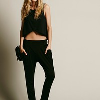 Free People Womens Drapey Pocket Pant -