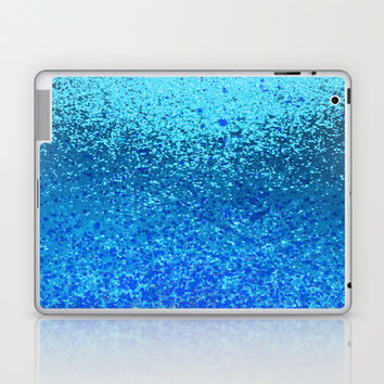 ocean ripple Laptop & iPad Skin by Marianna Tankelevich