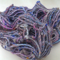 Corespun Art Yarn Lavendar Mix Up by pussypye on Etsy