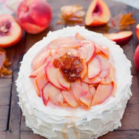 kiss the groom » Blog Archive » peach cake?.