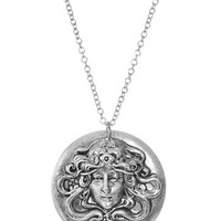 Nouveau Medusa Pendant Necklace