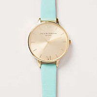 Big Dial Turquoise Watch