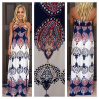 Keys to my Karma Maxi Dress