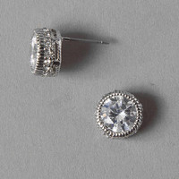 CLEARWATER CRYSTAL STUD EARRINGS
