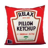 Relax Ketchup Pillow - Meninos Store