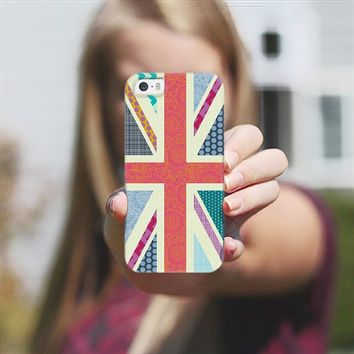 United Kingdom Beauty flag iPhone 5s case by Sharon Turner | Casetagram ~ get $5 off using code: 5A7DC3