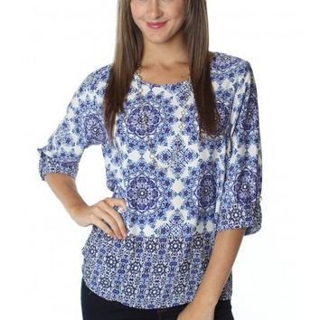 Sweet Nothings Blouse Blue