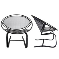 Pair of Salterini Hoop Mid Century Patio Bouncer Chairs