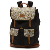 Vans Leopard Gramercy Backpack (Black)