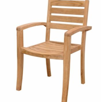 Catalina Stackable Armchair Set of 4