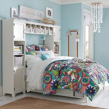 Beach Bloom Quilt + Sham