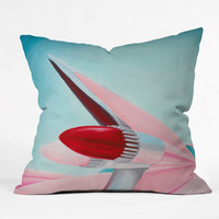 Mandy Hazell 1959 Cadillac Throw Pillow