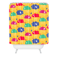 Zoe Wodarz Up And Away Shower Curtain