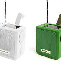 Kikkerland Design Inc » Products » Solar Powered Radio