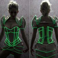 Artifice Products - Lilith Shrug with Glow in the dark trim