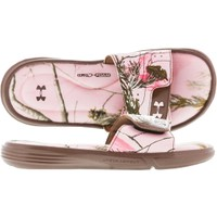 Under Armour Women's Ignite VI Camo Slide