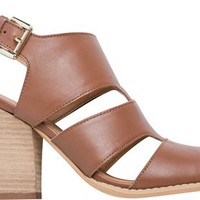 VERY VOLATILE SAHLAH CUT OUT HEELED SANDAL