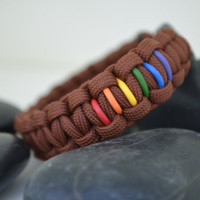 A Side of Pride Bracelet with Buckle Clasp by Blkphoenix856