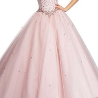 Angel Bridal Evening Dresses Tulle Ball Gowns Quinceanera Dresses Prom Gowns Long