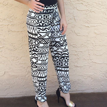 Tribal Print Pants!