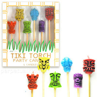 TIKI TORCH PARTY CANDLES