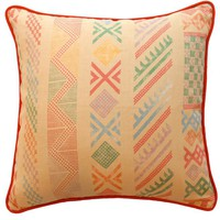 "Kathryn Ireland Store ? Tangier Natural/Multi 22"" Pillow"