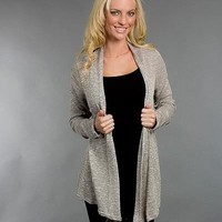 faded color cardigan