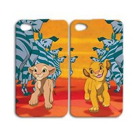 Disney iPhone Case Cute Pair Cover Simba Lion King iPhone 4 4s 5 5s iPhone 5c 6