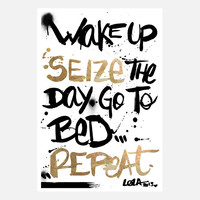 Seize The Day – Art Print