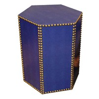 Blake Accent Table, BlueTAYLOR BURKE HOME