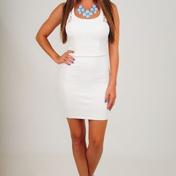Looking For You Dress: White