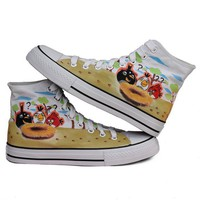 Wholesale Angry birds graffiti shoes M-Z-B1077  - Lovely Fashion
