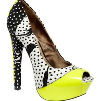Betsey Jonshon Shoes, Vollume Platform Pumps - Pumps - Shoes - Macy's