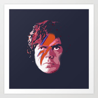 TYRION SANE Art Print by Alan Hogan