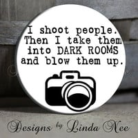 EXCLUSIVE to my shop I shoot people Then by DesignsbyLindaNeeToo